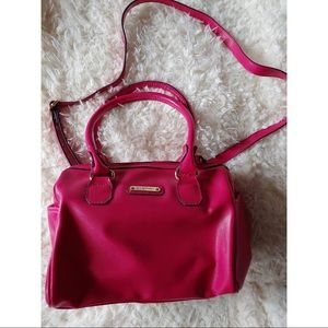 Anne Klein Hot Pink Crossbody and Handbag